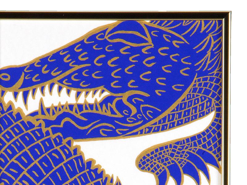 シルクスクリーン Crocodiles