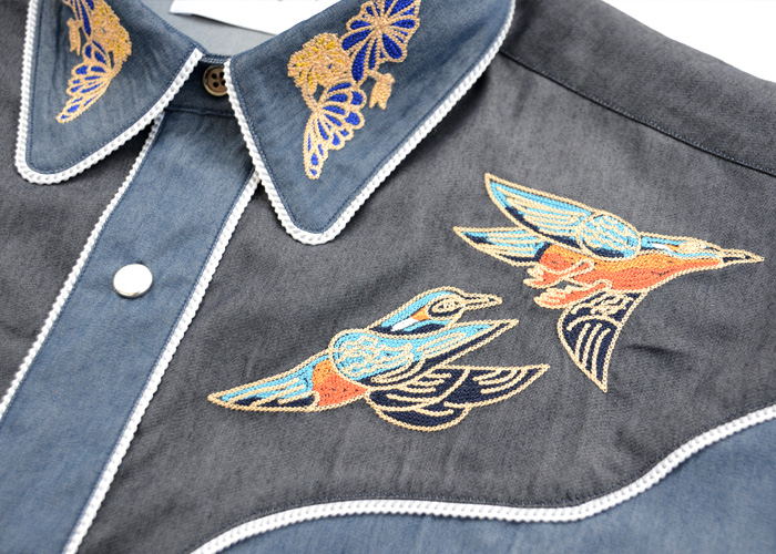 EMBROIDERED WESTERN SHIRT