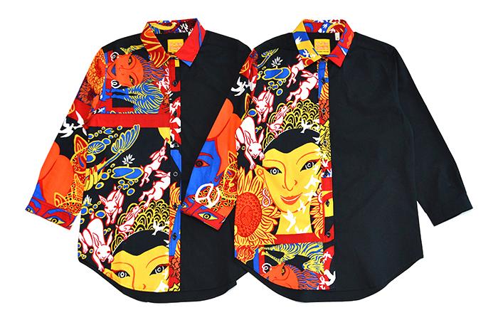 ブロード7/Sシャツ〈H.BaRock〉