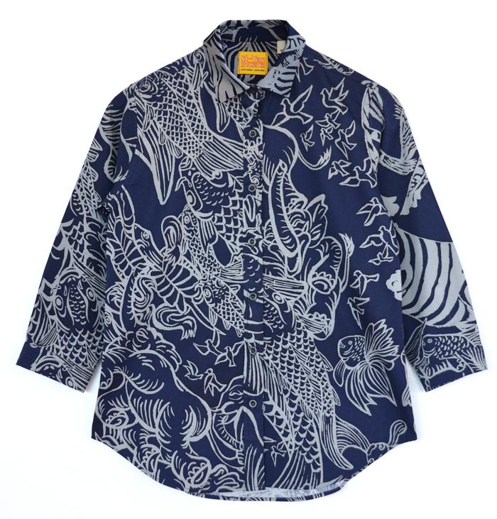 ブロード7/Sシャツ〈LIVE〉
