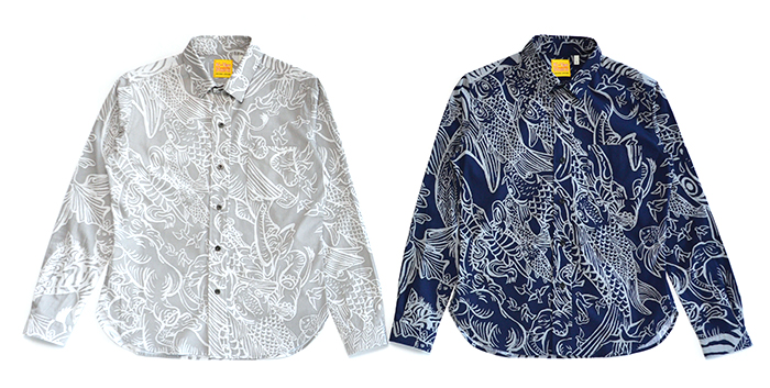 ブロードL/Sシャツ〈LIVE〉