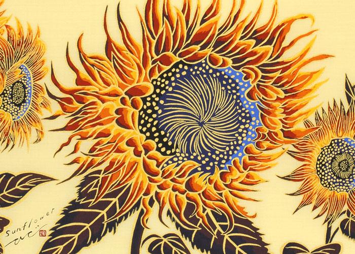 永楽屋/手ぬぐい/Sunflower