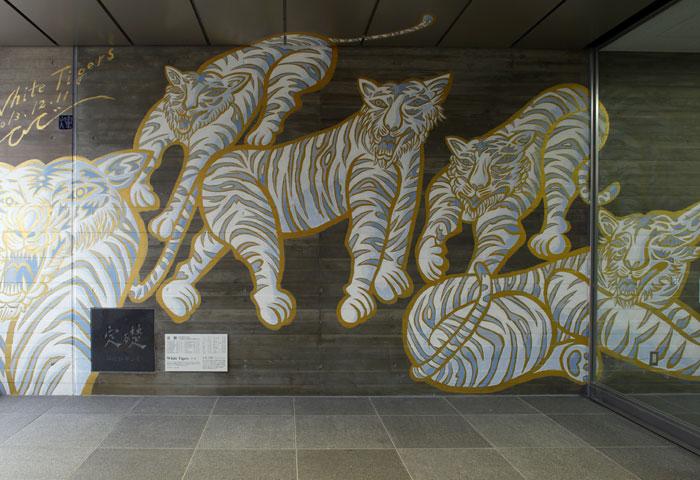 White Tigers壁画